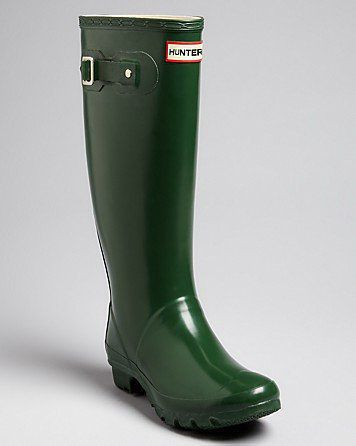 Hunter Huntress Extended Calf Rain Boots - $148的图片