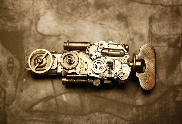 Steampunk USB Flash Drive 8Gb.的图片