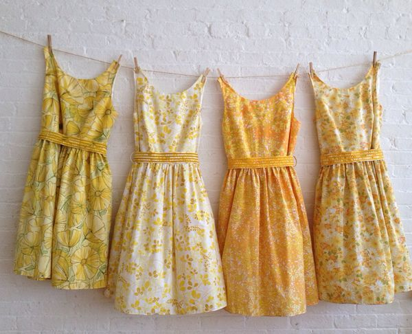 vintage inspired tea dresses for your wedding - RESERVED for jenifer 的图片