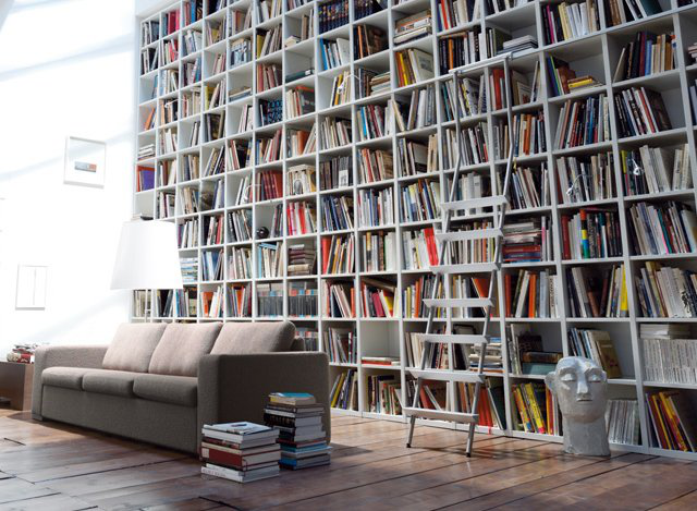 Random Bookcase by MDF Italia 的图片