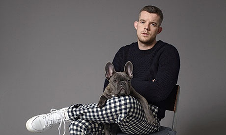 Tovey and his French bulldog