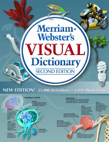 Merriam-Webster's Visual Dictionary, New Second Edition, hardcover