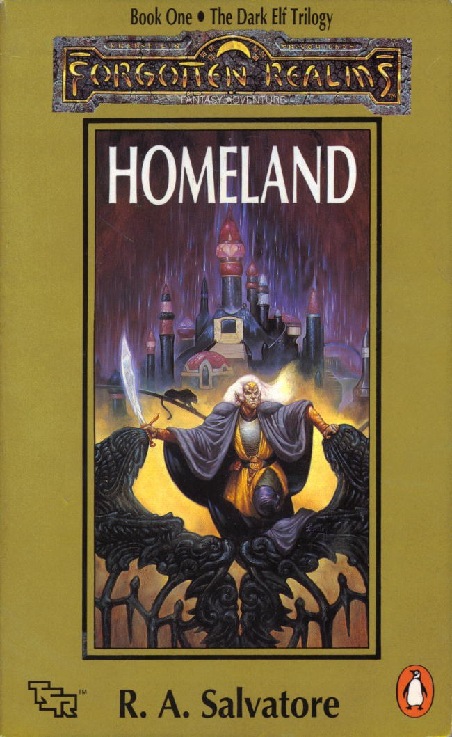 Homeland: The Dark Elf Trilogy, Book 1