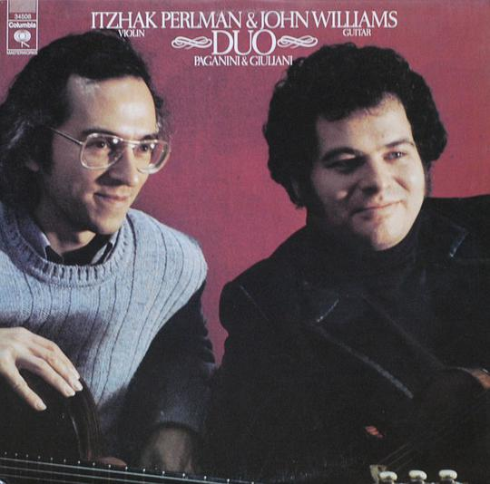 PERLMAN... - ITZHAK PERLMAN & JOHN WILLIAMS DUO PAGANINI &GIULIANI