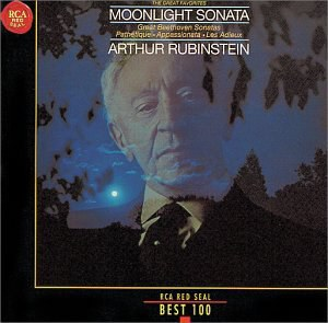 Arthur Rubinstein - Great Beethoven Sonatas: Moonlight, Pathétique, Appassionata, Les Adieux