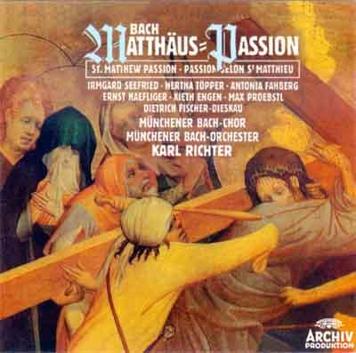 Hertha Topper... - Bach: Matthäus-Passion (St. Matthew Passion)