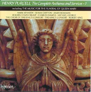 Purcell: The Complete Anthems and Services - 7