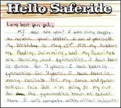 Hello Saferide - Long Lost Penpal
