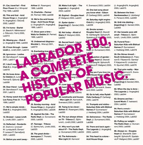 Various Artists - Labrador 100 A Complete History Of Popular Music