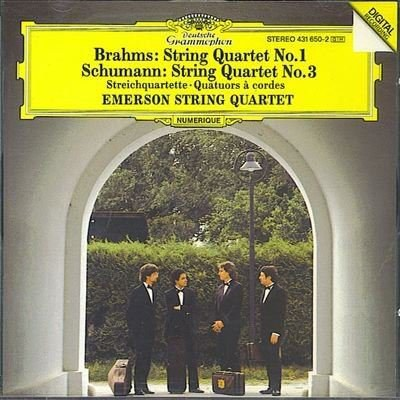 The Emerson String Quartet - Brahms: String Quartet No.1 in C minor, Op. 51/1 / Schumann: String Quartet in A, Op. 41/3