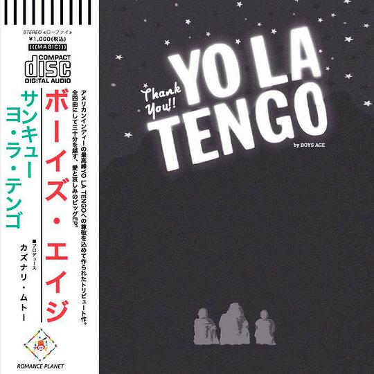 Boys Age - Thank you! Yo la tengo.