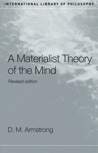 A Materialist Theory of the Mind