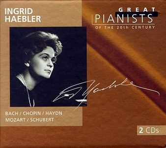 Ingrid Haebler - Great Pianists of the 20th Century: Ingrid Haebler