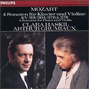Mozart: 4 Sonatas for Piano and Violin KV 301 / 304 / 376 & 378