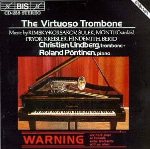 Christian Lindberg - The Virtuoso Trombone