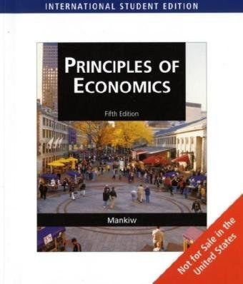 Principles of Economics, International Edition