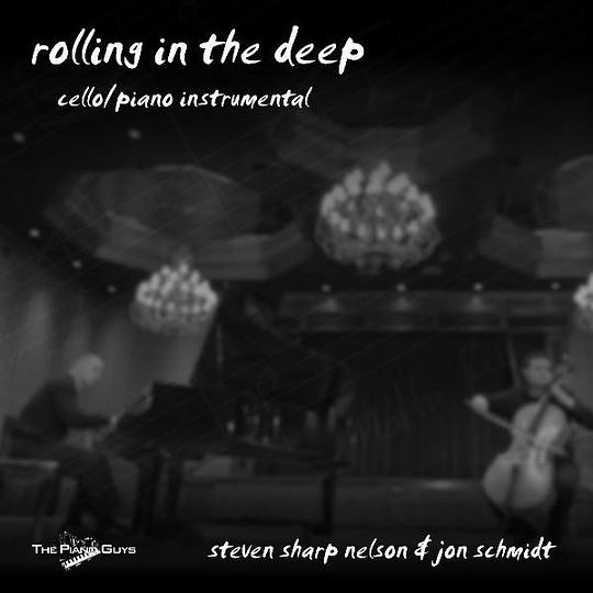 Steven Sharp Nelson & Jon Schmidt - Rolling In the Deep (Vocal/cello/piano Cover)