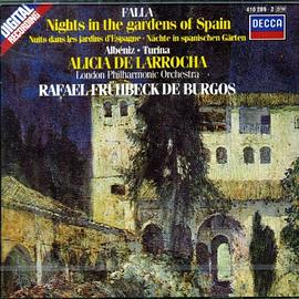 Alicia de Laroccha... - Falla: Nights in the Gardens of Spain / Albeniz: Rapsodia Espanola / Turina: Rapsodia Sinfonica