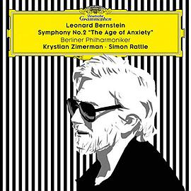 Bernstein / Zimerman / Berliner Phil / Rattle - Symphony No 2 the Age of Anxiety [Import allemand]